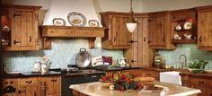 knotty pine kitchen cabinets   Choosing Kitchen Type » DIY Guides