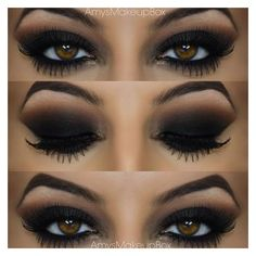 Seductive Smokey Eye ❤ liked on Polyvore featuring beauty products, makeup, eyes, beauty, phrase, quotes, saying and text
