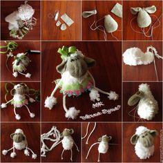 Шьем овечку Дуню - Ярмарка Мастеров - ручная работа, handmade