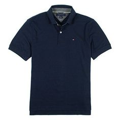 Tommy Hilfiger Mens Classic Fit Interlock Polo Shirt Multiple Styles & Sizes NEW #TommyHilfiger #PoloRugby