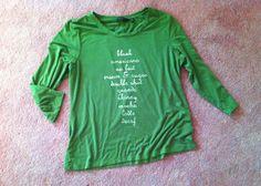 Dear Barista shirt $15.00, via etsy