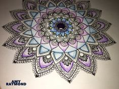 #mandala #sketch #pigma #doodle #inkart #mixedmedia #art #artismytherapist #zen #draw #zentangle #henna #tattoo #sharpie #staedler #beginner #rangoli By Amy Raymond :please do not copy.