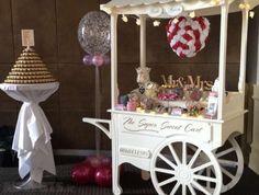 Candy Cart, Candy Ferris Wheel, Wedding Balloons