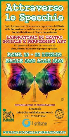 Il Blog del Teatro Impertinente: Attraverso lo Specchio - ROMA