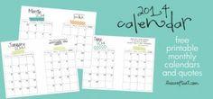 printable calendar binder