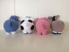 Crochet Animals, Crochet Toys, Crochet Baby, Baby Cardigan, Amigurumi Toys, Pet Toys, Little Ones, Baby Dolls, Crochet Patterns