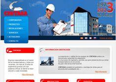 Diseño web coporativa y catálogo online para la empresa de cinstas transportadoras Cintasa. #diseño_web_Zaragoza http://www.idenet.net/portfolio-item/web-corporativa-cintasa?utm_campaign=portfolio&utm_medio=social&utm_source=pinterest