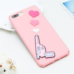 Pretty 3D Bullet Hearts Case