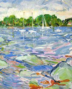 Paintings - Lillia Frantin Studio