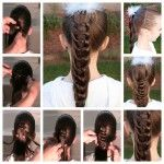 Wonderful DIY Cool Knotted  Ponytail Hairstyle