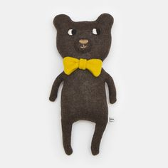 Norman the Bear Lambswool Plush Toy - Made to order