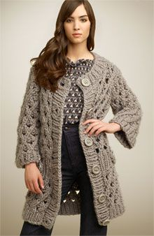 Twinkle by Wenlan Open Crochet Cardigan - Get the Looks - Nordstrom.com :  sweater fall chunky sweater cardigan