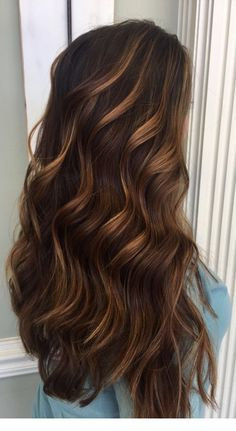149 beautiful light brown hair color to try for a new look page 15 – Brunette HairStyles Brown Hair With Caramel Highlights, Chocolate Brown Hair Color, Brown Hair Balayage, Brown Hair Colors, Hair Highlights, Ombre Hair, Caramel Brown Hair, Color Highlights, Caramel Hair Colors