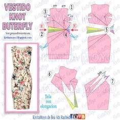 T Shirt Painting, Art Drawings Sketches Simple, Dress Sewing Patterns, Couture, Princess Seam, Pattern Fashion, Knots, Gowns, Charts