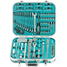 eBay #Sponsored Makita Lot D'Outils 227-teilig P-90532 Assortiment des Embouts Noix Inserts Metal Chop Saw, Makita Power Tools, Best Wood For Furniture, Truck Mods, Insert, Tools And Equipment, Tool Set, Mani, Motorcycles