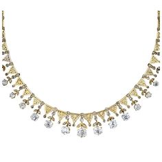 Extrordinary Antique Diamond Necklace   From a unique collection of vintage more necklaces at http://www.1stdibs.com/necklaces/more-necklaces/