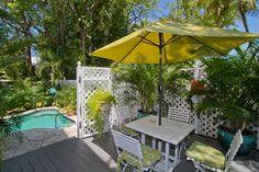 Under My Umbrella, Key West, Patio, Outdoor Decor, Home Decor, Key West Florida, Decoration Home, Room Decor, Home Interior Design