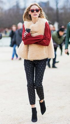Olivia Palermo Proves Staying Warm and Chic Is Possible With Her Latest Street…