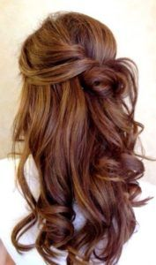 The 5 Most Gorgeous Hair-Color Ideas for Brunettes The 5 most beautiful hair color ideas for brunettes Curly Prom Hair, Curly Hair Styles, Men's Hair, Easy Wedding Guest Hairstyles, Hair Styles Wedding Guest, Wedding Guest Updo, Wedding Guest Outfits, Wedding App, Wedding Dresses
