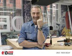 La L di Linus, Radio Deejay.