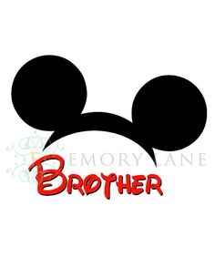 Mickey Mouse Printable Disney Iron On Transfer by EmoryLaneStudios, $3.75