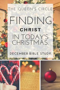 How do you find CHRIST in the celebration of today's Christmas? In December's virtual Bible Study, we are finding Jesus in the symbols of Christmas and clearing up the misconceptions surrounding the birth of the Messiah! Join The Queen's Circle and get access to this virtual Bible Study plus some amazing resources!