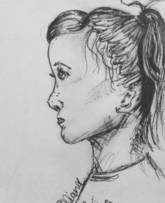 Pen and ink drawings draw faces how to simple faces people art pen and ink drawings face drawing simple profile drawing art ideas artspiration ccuart Image collections