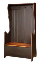 Samuel Stoltzfus Pine Furniture - Farm Benches, Settle Benches, Entry Benches