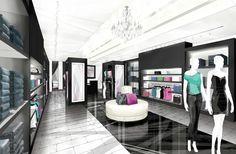 Business-flesh retail store rendering