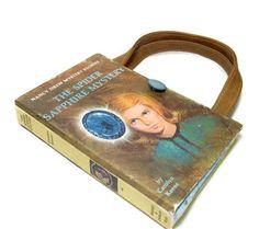 Upcycled Book  Purse  Nancy Drew The Spider by retrograndma, $39.99