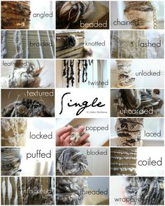 20 HD Videos for Spinning Creative Textured by howtospinyarn