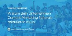 Oftmals scheitert Content Marketing daran, dass qualifiziertes Personal fehlt. Gebraucht werden die sogenannten Content Marketing Naturals.
