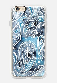 Casetify iPhone 7 Case and Other iPhone Covers - Indigo Paisley by omness   #Casetify