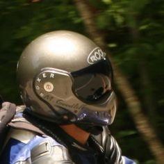 grey roof boxer helmet OTR