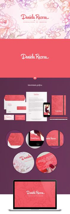Identidade Visual Daniela Razera: Consultora de Imagem on Branding Served