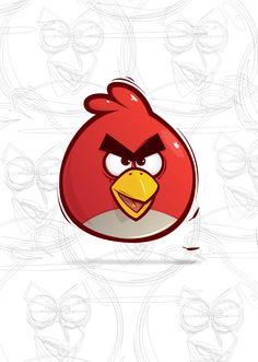 Jelio Dimitrov - graffiti, design, illustration, motion: Angry Birds