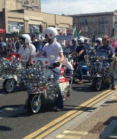 Mods on a Scooter Rally
