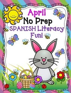 Your students will love working on these fun, hands on, and engaging activities.  Use these in your abc centers, literacy centers, small group, or you can even use them for RTI Intervention Purposes.  In this No Prep Spanish packet, your students will develop and master skills with sorting pictures by initial syllable, forming words that contain 2 syllables, sorting intial sound pictures with upper and lowercase letters, fill in the missing letters of the alphabet, and sight word scramble…