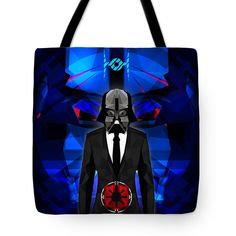 Darth Vader Tote Bag Star Wars Print Tote Beach Bag Shopping Bag $23.50 by Filip Aleksandrov, Ships from USA