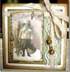 Vintage Card (Layout Inspiration)