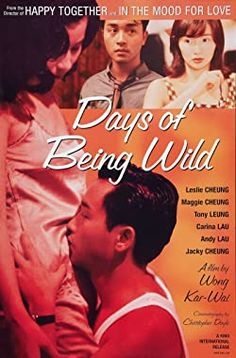 Phim A Phi Chính Truyện - Days Of Being Wild 1990: Lấy bối cảnh Hồng Kông và Philippines vào những năm 1960. Húc Tử là một playboy sành sỏi trong việc