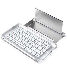 Ultra-thin Back-light Wireless Bluetooth 3.0 Keyboard Case for iPhone 6 Plus - NOK kr. 368