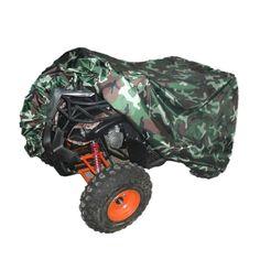 Quad Tractor ATV Cover Anti-UV Waterproof Heatproof Camouflage XL #atvcover #quadcover #atvacc #quadacc #camocover