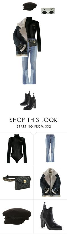 """Untitled #761"" by ducle1910 ❤ liked on Polyvore featuring GCDS, RE/DONE, Acne Studios, Billabong and rag & bone"