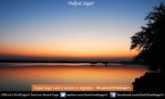 Dalpat Sagar Lake is situated at Jagdalpur, sprawling over 350 hectares, it is the largest artificial lake in Chhattisgarh. #ExploreChhattisgarh