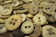 Authentic 1800s Bone Underwear Buttons for by TheOldTimeJunkShop, $10.00
