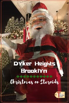 A travel blog about venturing out to the Dyker Heights neighborhood in Brooklyn to see the spectacular Christmas Light displays.#nyc via @2travelingtxns
