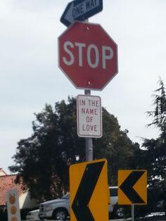In the name of love xD