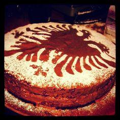 Albanian cake