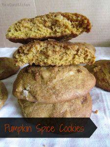 Pumpkin Spice cookies | PixieDustKitchen